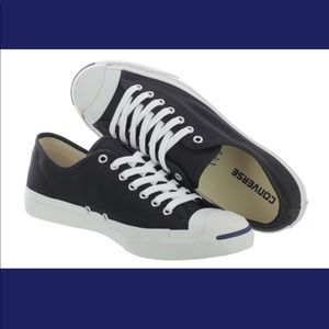 New Converse Jack Purcell® Black Canvas Low Top